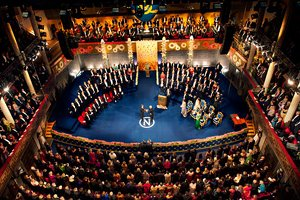 Nobel Prize award ceremony 2012