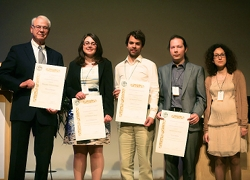 The 2013 EPS Plasma Physics Division PhD Research Awards laureates