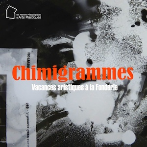 Chimigrammes, art workshop by Silvi Simon at the APAP